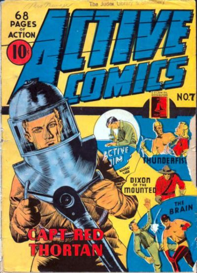 Cover for Active Comics (Bell Features, 1942 series) #7