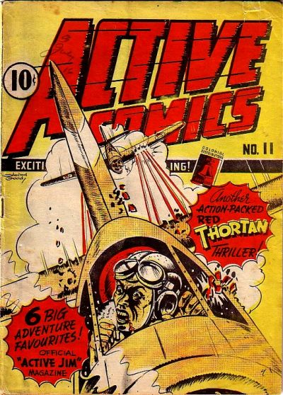 Cover for Active Comics (Bell Features, 1942 series) #11