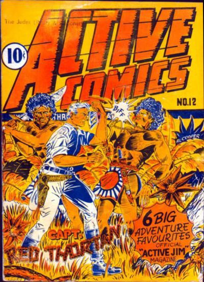 Cover for Active Comics (Bell Features, 1942 series) #12
