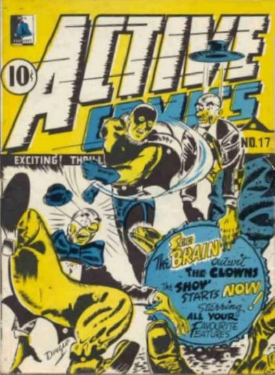 Cover for Active Comics (Bell Features, 1942 series) #17
