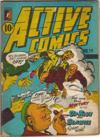 Cover for Active Comics (Bell Features, 1942 series) #19