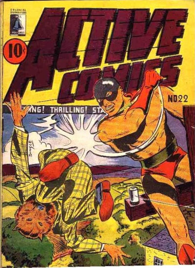 Cover for Active Comics (Bell Features, 1942 series) #22