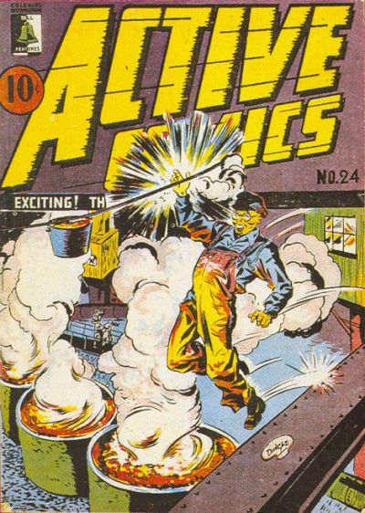 Cover for Active Comics (Bell Features, 1942 series) #24