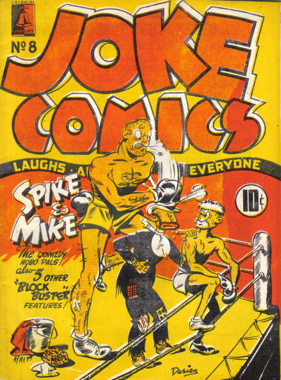 Cover for Joke Comics (Bell Features, 1942 series) #8
