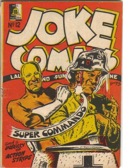 Cover for Joke Comics (Bell Features, 1942 series) #12