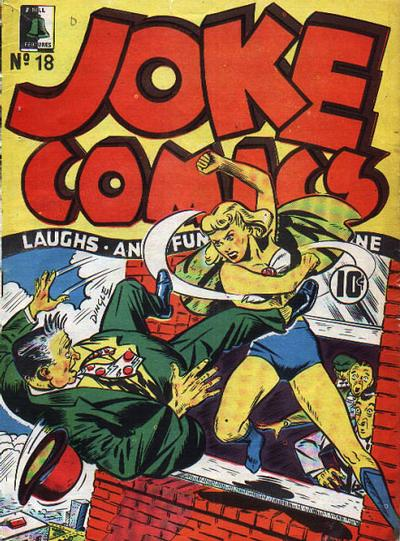 Cover for Joke Comics (Bell Features, 1942 series) #18