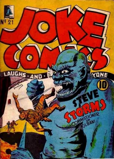 Cover for Joke Comics (Bell Features, 1942 series) #21