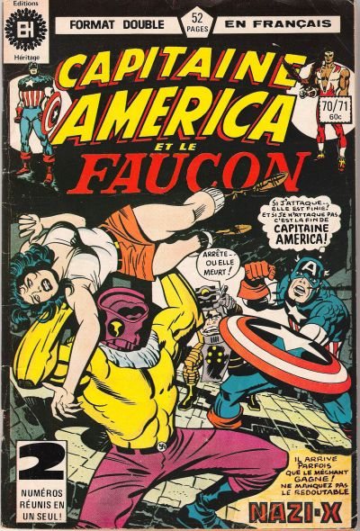 Cover for Capitaine America (Editions Héritage, 1970 series) #70/71