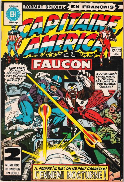 Cover for Capitaine America (Editions Héritage, 1970 series) #72/73