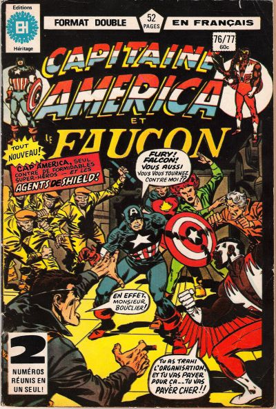 Cover for Capitaine America (Editions Héritage, 1970 series) #76/77