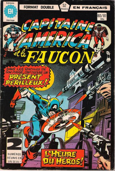 Cover for Capitaine America (Editions Héritage, 1970 series) #80/81