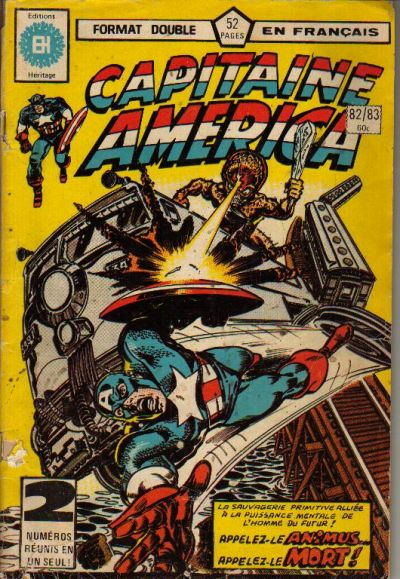 Cover for Capitaine America (Editions Héritage, 1970 series) #82/83