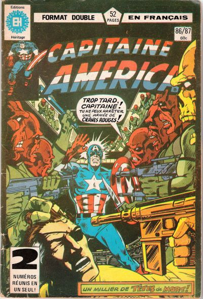 Cover for Capitaine America (Editions Héritage, 1970 series) #86/87