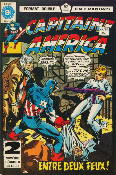 Cover for Capitaine America (Editions Héritage, 1970 series) #92/93
