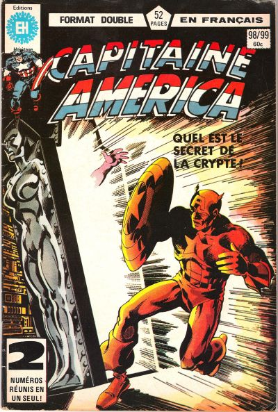 Cover for Capitaine America (Editions Héritage, 1970 series) #98/99