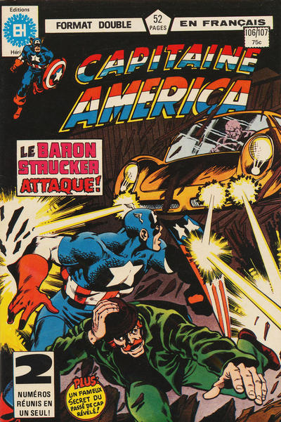 Cover for Capitaine America (Editions Héritage, 1970 series) #106/107