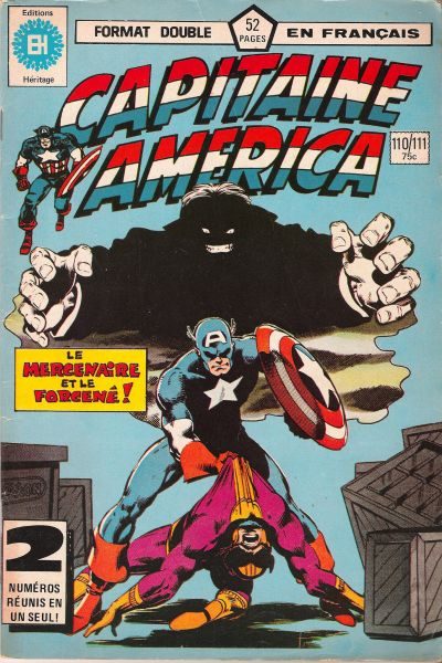 Cover for Capitaine America (Editions Héritage, 1970 series) #110/111