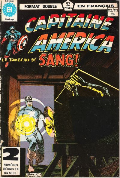 Cover for Capitaine America (Editions Héritage, 1970 series) #112/113
