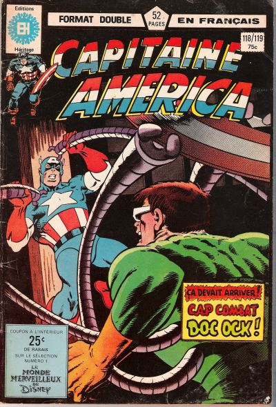 Cover for Capitaine America (Editions Héritage, 1970 series) #118/119