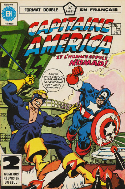 Cover for Capitaine America (Editions Héritage, 1970 series) #120/121