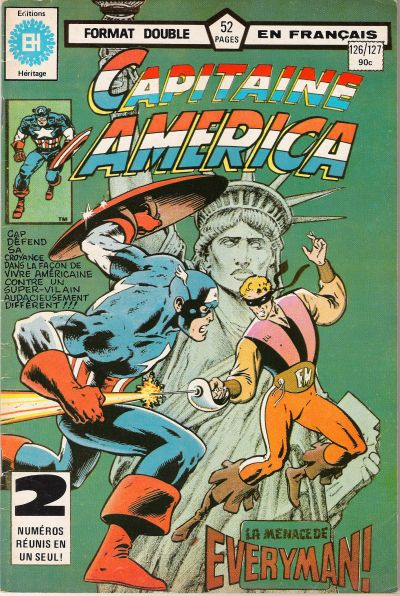 Cover for Capitaine America (Editions Héritage, 1970 series) #126/127
