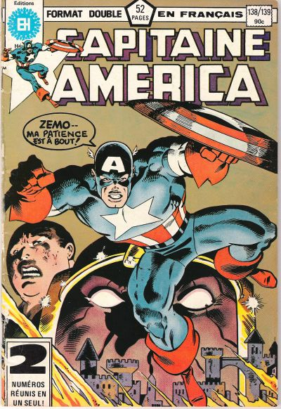 Cover for Capitaine America (Editions Héritage, 1970 series) #138/139