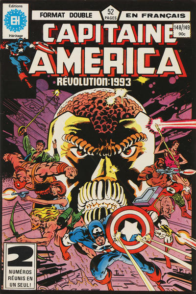 Cover for Capitaine America (Editions Héritage, 1970 series) #148/149