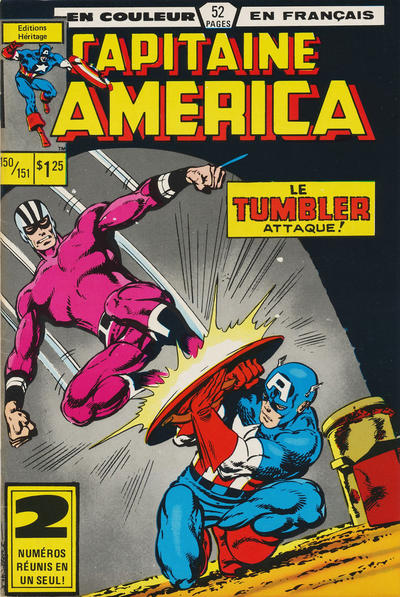 Cover for Capitaine America (Editions Héritage, 1970 series) #150/151
