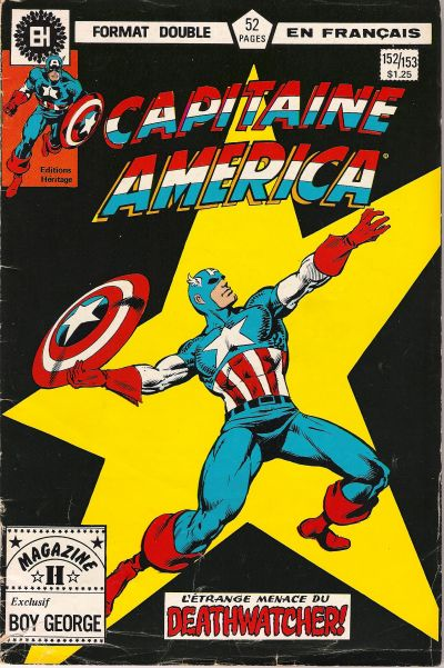 Cover for Capitaine America (Editions Héritage, 1970 series) #152/153