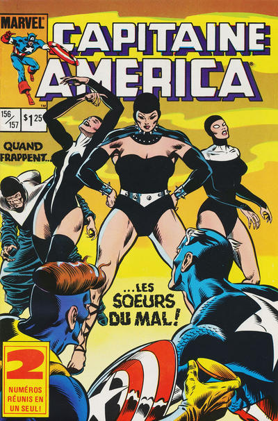 Cover for Capitaine America (Editions Héritage, 1970 series) #156/157