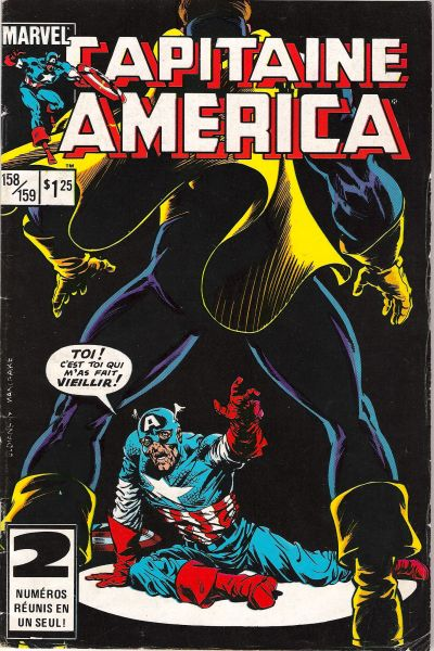 Cover for Capitaine America (Editions Héritage, 1970 series) #158/159