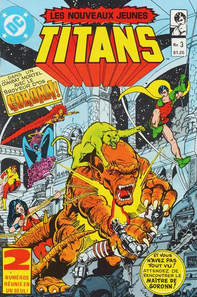 Cover for Les Nouveaux Jeunes Titans (Editions Héritage, 1984 series) #3