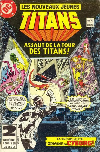 Cover for Les Nouveaux Jeunes Titans (Editions Héritage, 1984 series) #4