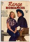Cover for Range Romances (Quality Comics, 1949 series) #4