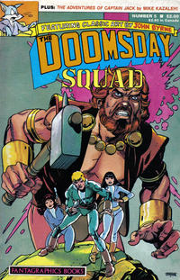 Cover Thumbnail for The Doomsday Squad (Fantagraphics, 1986 series) #5