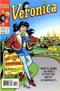 Cover Thumbnail for Veronica (Archie, 1989 series) #42 [Direct Edition]