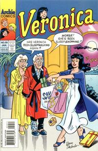 Cover Thumbnail for Veronica (Archie, 1989 series) #59 [Direct Edition]