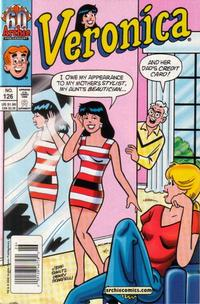 Cover for Veronica (Archie, 1989 series) #126