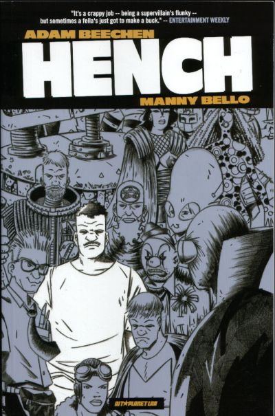 Cover for Hench (AiT/Planet Lar, 2004 series)