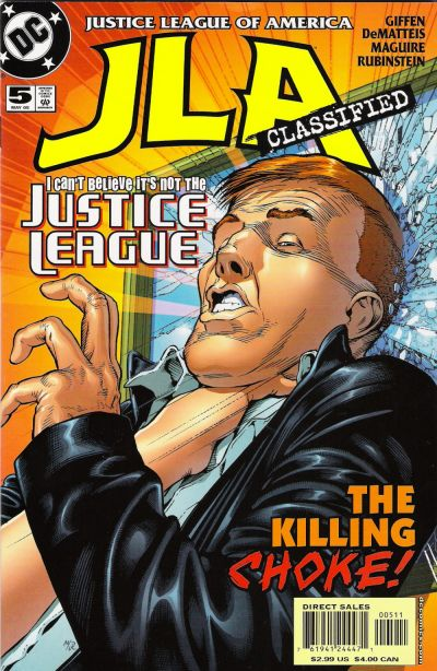 Cover for JLA: Classified (DC, 2005 series) #5 [Direct Sales]