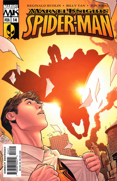 Cover for Marvel Knights Spider-Man (Marvel, 2004 series) #14