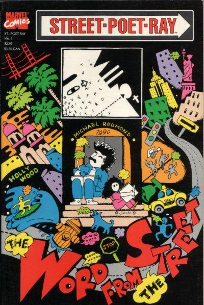 Cover for Street Poet Ray (Marvel, 1990 series) #1