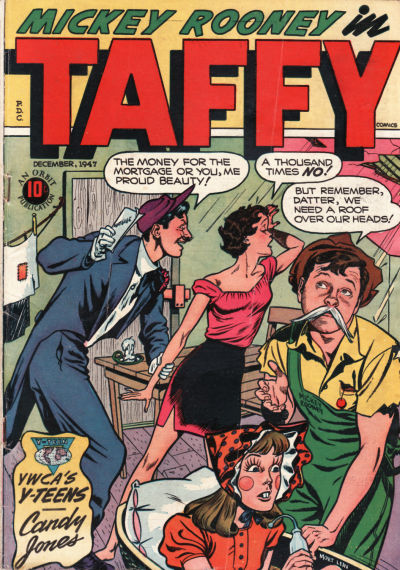 Cover for Taffy Comics (Orbit-Wanted, 1946 series) #11