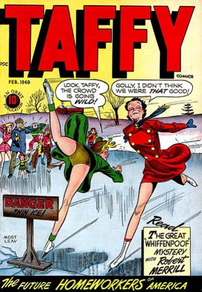 Cover for Taffy Comics (Orbit-Wanted, 1946 series) #12