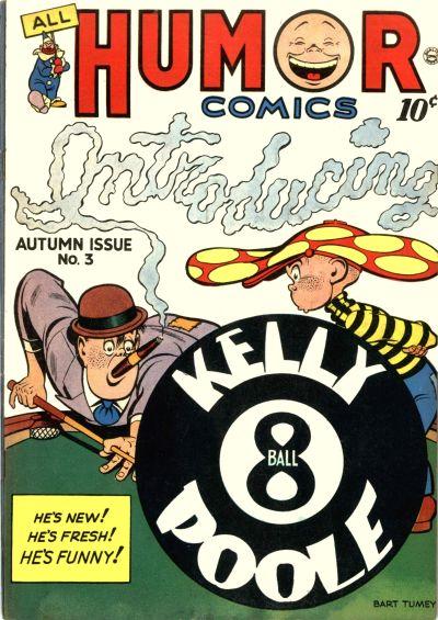 Cover for All Humor Comics (Quality Comics, 1946 series) #3