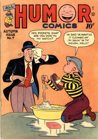 Cover for All Humor Comics (Quality Comics, 1946 series) #7