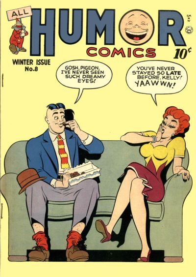 Cover for All Humor Comics (Quality Comics, 1946 series) #8