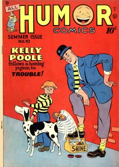 Cover for All Humor Comics (Quality Comics, 1946 series) #10