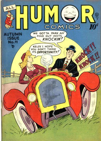 Cover for All Humor Comics (Quality Comics, 1946 series) #11