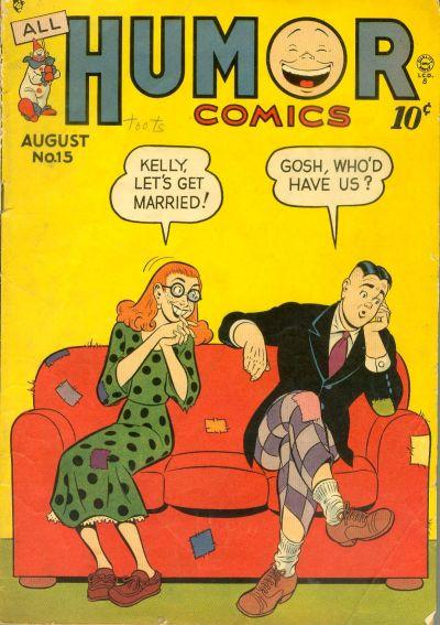 Cover for All Humor Comics (Quality Comics, 1946 series) #15